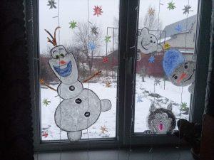 новогоднее окноПасанова Александра д Филяндино, д9-4
