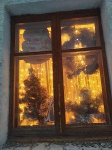 новогоднее окно д.Аксенцево,98 Шигина Елена