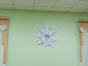 самая большая снежинка МУК ДК сДавыдово